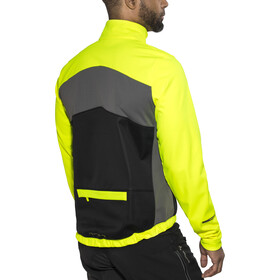 PEARL iZUMi Select Escape Softshell Jacket Men Screaming Yellow/Black